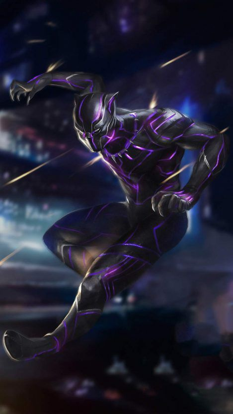 Iphone Wallpapers Wallpapers For Iphone Xs Iphone Xr And Iphone X Black Panther Marvel Black Panther Art Black Panther Black panther iphone xs max wallpaper