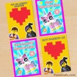 Free Lego printables - heaps of styles banners treat boxes invitations etc