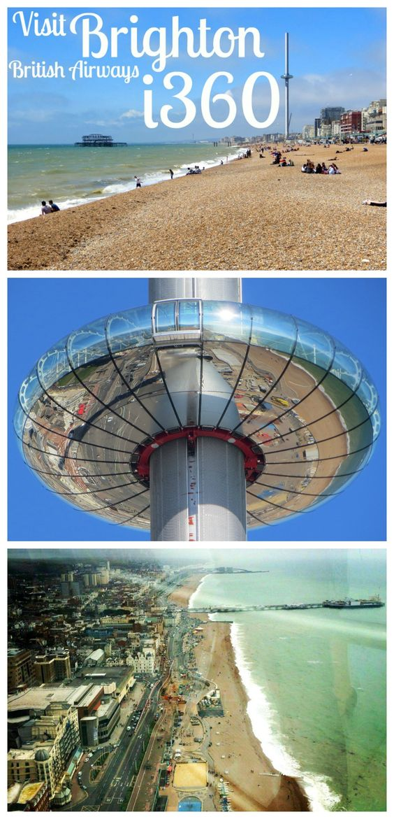 Have you been to the Brighton i360 yet? The world's tallest moving observation tower sits on the edge of one of the most beautiful UK beaches. Check our review here: