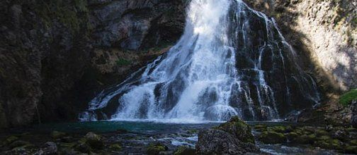 Zum Gollinger Wasserfall - Wanderung - Tour Salzburger Land