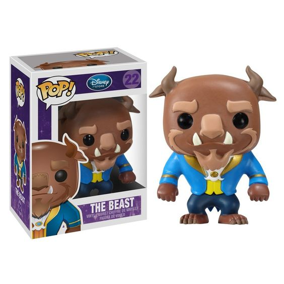 Amazon.com: Funko POP Disney The Beast Vinyl Figure: Funko Pop!: Toys & Games