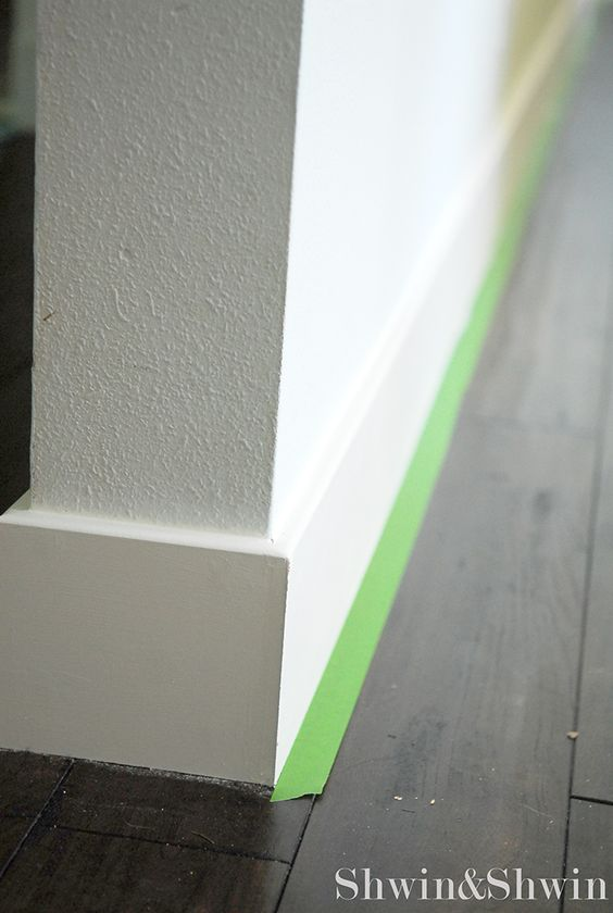 Baseboard square edge dream home interiors Baseboard height