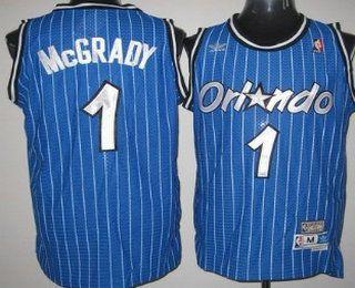 fcd892cb6e47 ... Orlando Magic 1 Tracy McGrady Blue Hardwood Classics Soul Swingman  Throwback Jersey ...