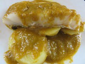 INGREDIENTES: 300 gr. de pescado blanco 200 gr. de tomate 200 gr. de cebolla 200 gr. de pimiento 600 gr. de patatas en rodajas gruesas 60 ...