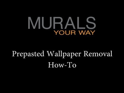 How To Remove Prepasted Wallpaper Prepasted Wallpaper How To Remove Murals Your Way
