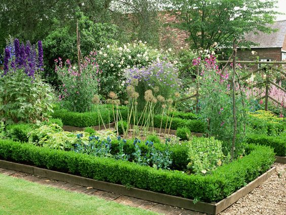 35 great garden designs gardens raised beds and beds for Great garden designers