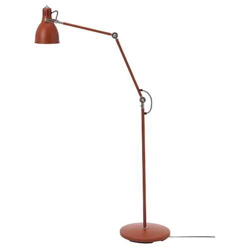 Ikea Arod Floor Reading Lamp With Led Bulb Reading Lamp Floor