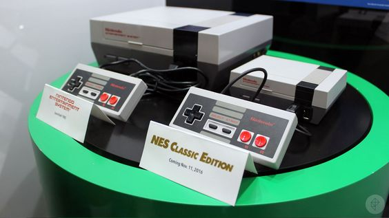 Up close with Nintendo's new NES Classic Edition | Polygon