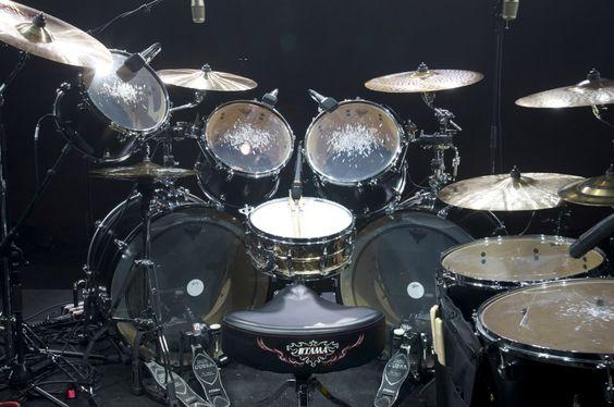 Dave Lombardo | Drum Set | Pinterest