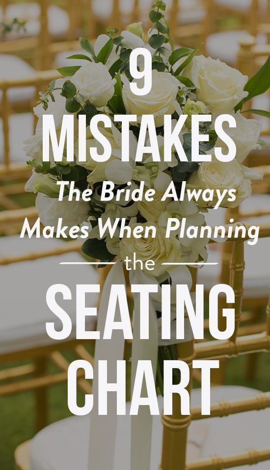 Make The Process Less Stressful By Avoiding These Seven Mistakes Wedding Weddings Wed Wedding Planning Guide Seating Chart Wedding Budget Friendly Wedding
