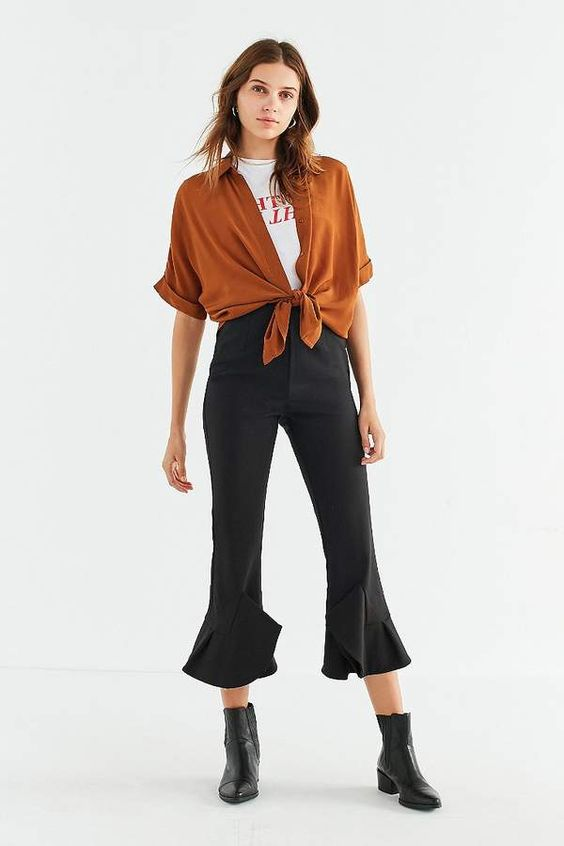 C/meo Collective Intermission High-Rise Kick Flare Pant