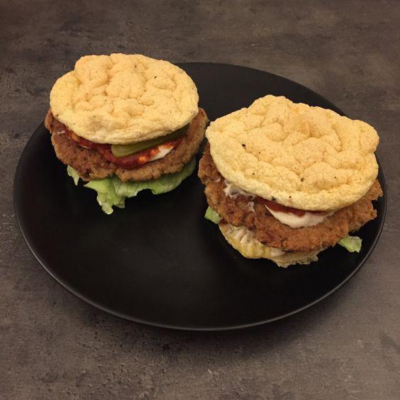 Fischfrikadellen-Burger – howegethealthy