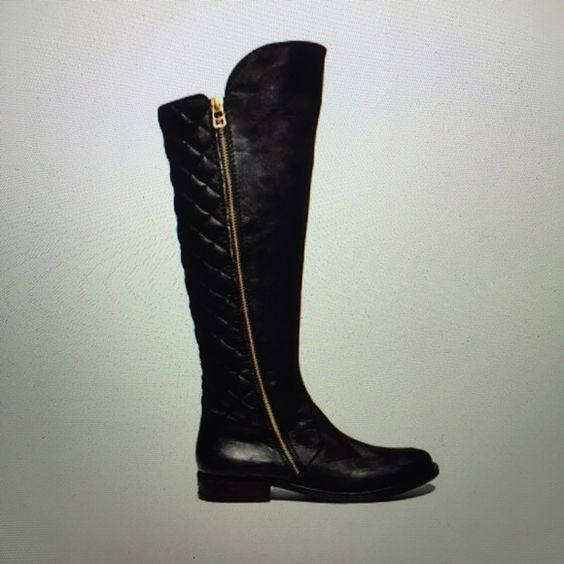 """Steve Madden """"Northside"""" boots Knee-high boots with its leather front and textured back. Steve Madden Shoes Winter & Rain Boots"""