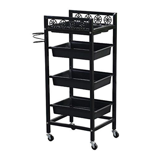 Lsx Shelf Trolley Shelf Beauty Salon Tool Cart Barber Shop Multi