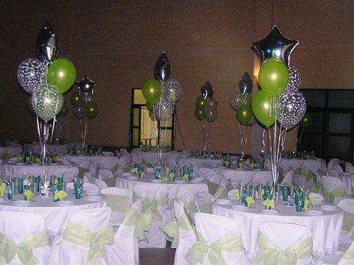 centros de mesa con globos para bodas Cosas que me encantan
