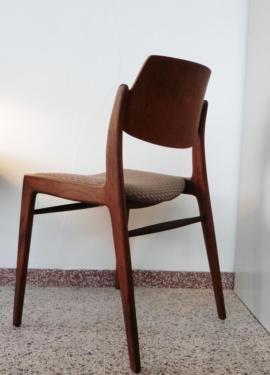 Filtrart Teak Stuhl 60er Jahre Design 1/3 Danish? Leder in Hessen - Oberursel (Taunus)   Stühle gebraucht kaufen   eBay Kleinanzeigen