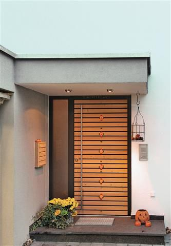 Haustüren Aus Holz Bauelemente - Die Baustoff-Partner