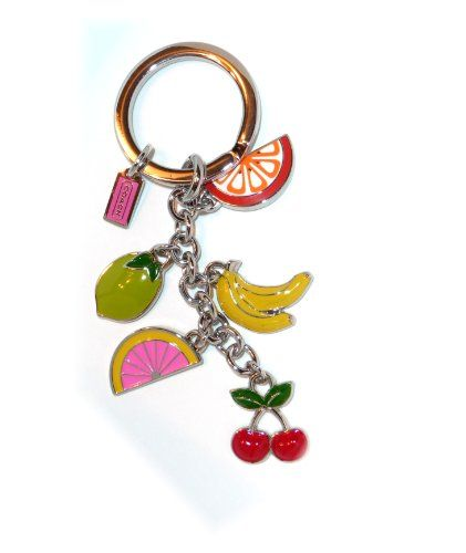 buy prada wallet online - Coach Enameled Fun Fruit Keyring / Purse Charms / Key Fob ...