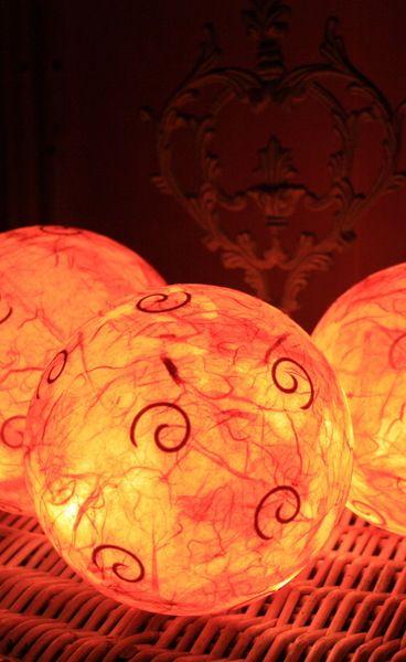 XL  NEU !  Leuchtkugel , Afrika , Orient von Creativablue auf DaWanda.com