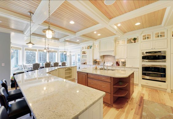 Coastal Kitchens Kitchen Designs And Ceilings On Pinterest