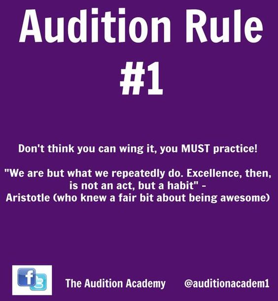 how to conduct a theatre audition An audition is a sample performance by an actor, singer, musician, dancer or  other performer  for actors in theater, film, and tv, the audition is a systematic  process in which industry professionals make final casting decisions   musician's union representative, who ensures that the audition is being run in a  fair manner.