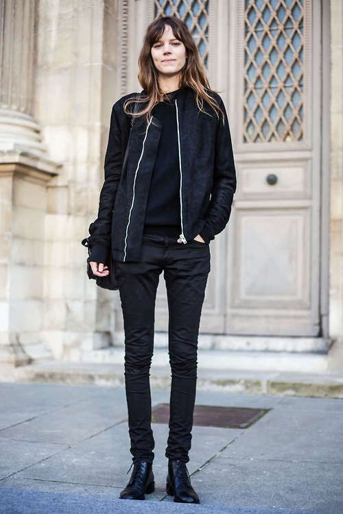 Black Jacket Fashion - Coat Nj