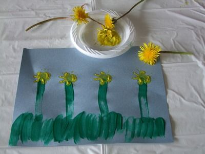 painting with Dandelions: