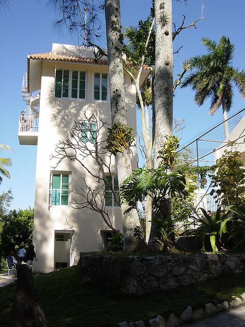 Hemingway's house tower in Cuba.