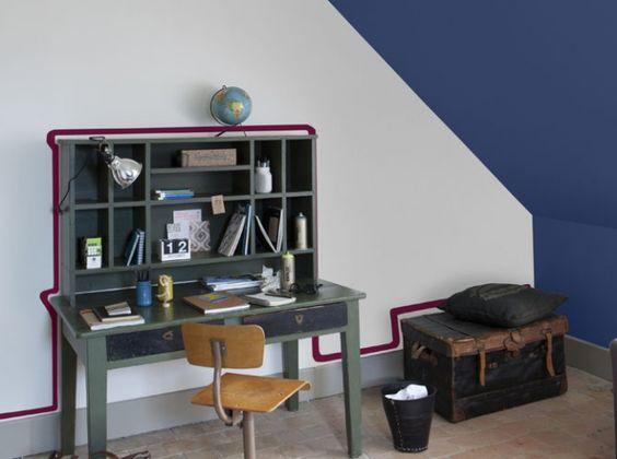 lieux bureaux and bordeaux on pinterest. Black Bedroom Furniture Sets. Home Design Ideas