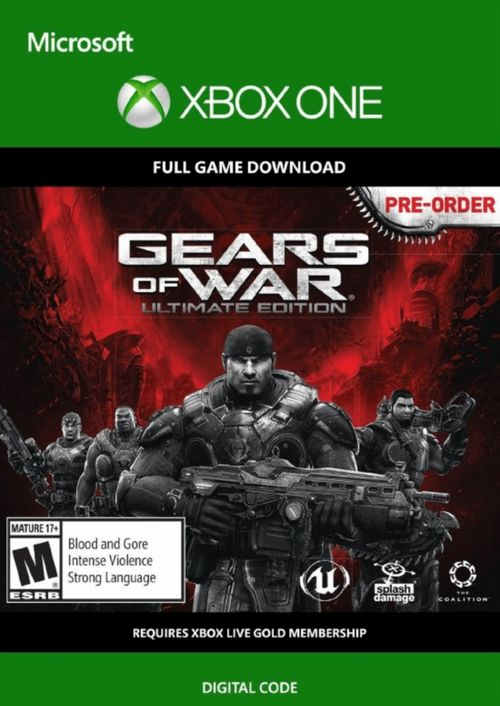 Gears Of War Ultimate Edition Xbox One Digital Download 1 99