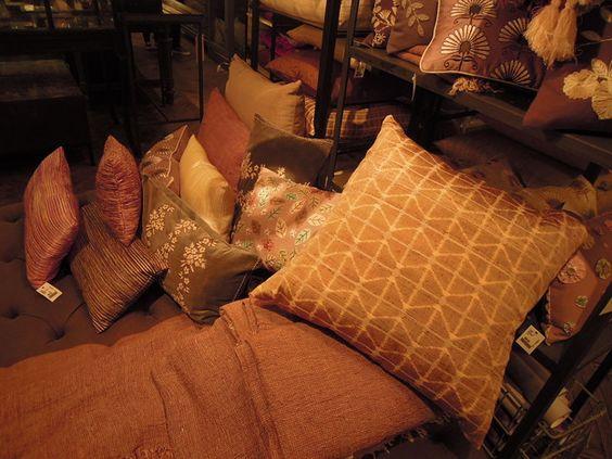 Room decor, Bed room @ ABC Carpet NY