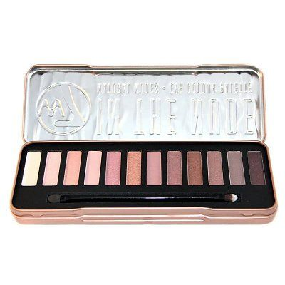 W7 Make-Up In The Nude Palette - Oogschaduw: