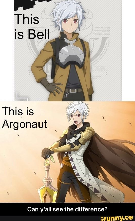 Can Y All See The Difference Can Y All See The Difference Ifunny Dungeon Anime Danmachi Anime Anime Funny