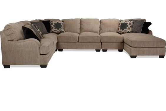 Brantley 5 piece sectional levin furniture levin for Levin furniture sectional sofa