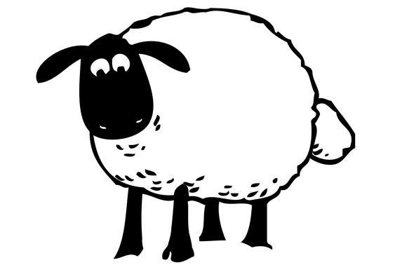 Shaun le mouton mouton and google on pinterest - Dessin tete de mouton ...