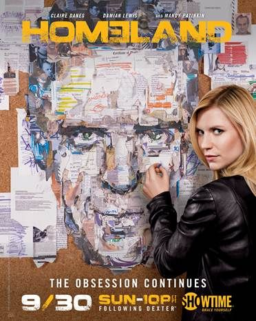 Homeland season 2 promo poster