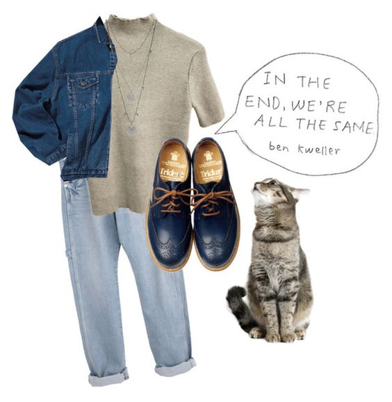 """In the end, were all the same"" by flowerpowerxx ❤ liked on Polyvore featuring Tricker's and Vince Camuto"