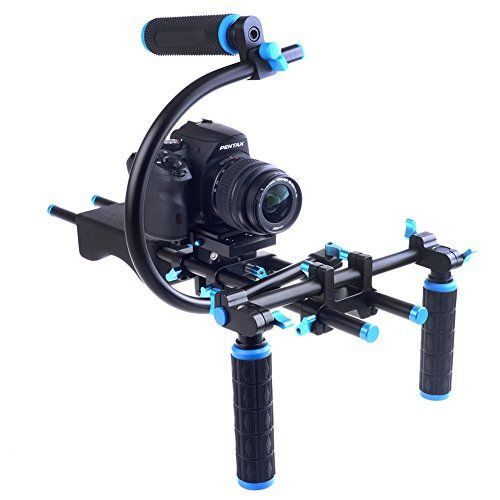 Neewer 15mm C-Shape Support Mount Bracket + Top Handle Grip for DSLR/DV Support System Rig Neewer http://www.amazon.com/dp/B00NJKNMS0/ref=cm_sw_r_pi_dp_od9Xvb0KNYNAY