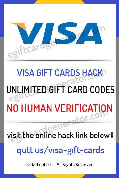 Free Visa Gift Card Generators Online Gift Codes No Surveys 2020