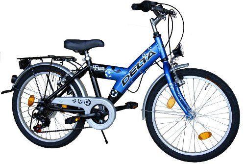 Delta Kinderfahrrad 20 Zoll Fahrrad Shimano 6 Gang Kett