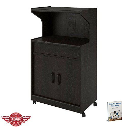 Kitchen Cart Utility Portable Multipurpose Storage Cabinet Frame Rolling Doors Shelf Rack On Wheels Organization Furniture Multipurpose Storage Home Appliances