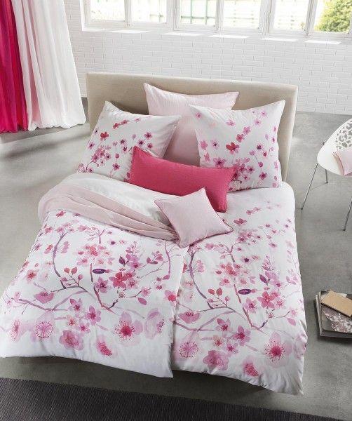 Rosa Wendebettwasche Mit Kirschbluten Von Fleuresse Bed Art