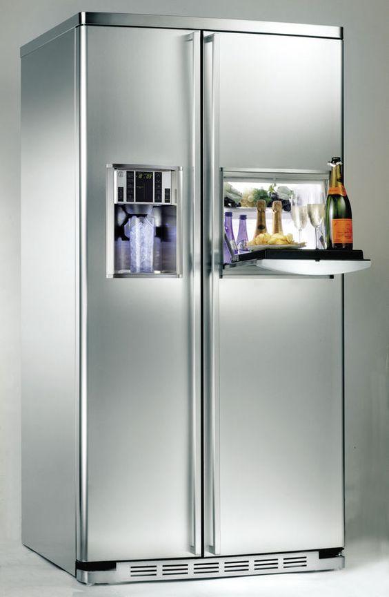 Réfrigérateur Américain Electrolux EAL6140WOU | Maison | Pinterest