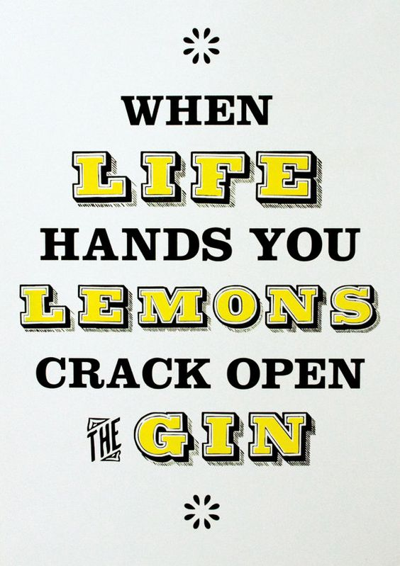 When life hands you lemons limited edition by taketheproverbial, £25.00