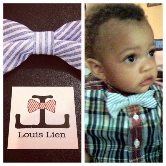 Baby Bow Tie by Louis Lien  Photo by louislien • Instagram