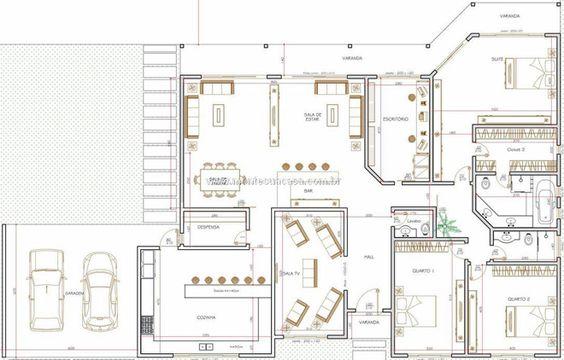 Planta de casas americanas: Home, Plantas Apt, Projects For, Container House, Plants, The Meadow, House Plans