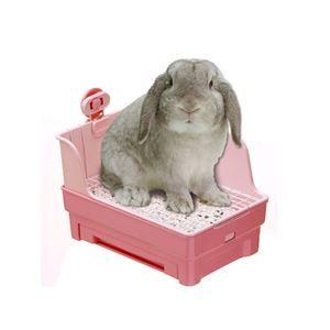 マルカン うさぎの楽ちん清潔トイレ MR-381【ペット用品】 - 拡大画像