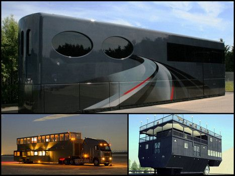 Amazing Two Story Luxury Motorhomes Motorhome Toy Haulers