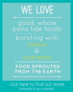 Food is so very important.