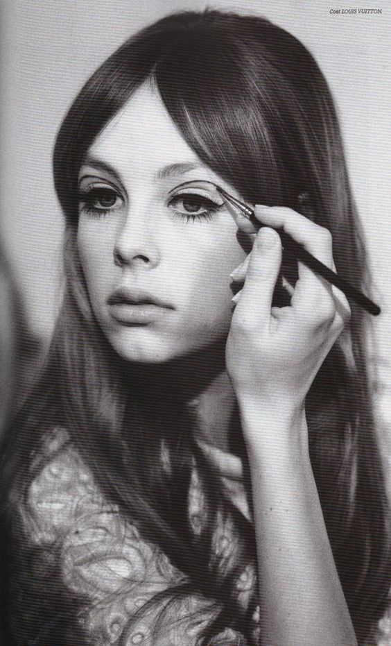 Edie Campbell: loving the sixties look   shot by Jessie Lily Adams